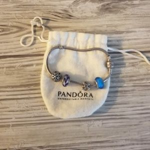 PANDORA Authentic Bracelet with Charms
